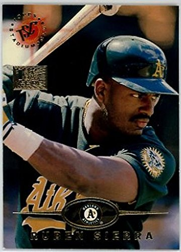 1995 Stadium Club First Day Issue #96 Ruben Sierra NM-MT - Club First Day Issue Stadium