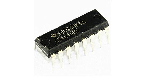 50Pcs CD4046 CD4046BE 4046 Phase Locked Loop DIP-16 ei