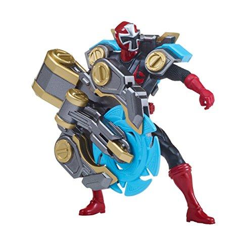 Power Rangers Super Ninja Steel 5 S.W.A.T Red Ranger, Spinning Cutter