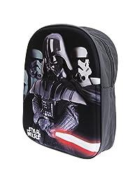 Star Wars Childrens/Kids Official Darth Vader Backpack/Rucksack (One Size) (Black)
