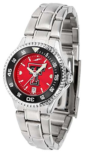 Texas Tech Red Raiders Competitor Steel AnoChrome Women's Watch - Color (Texas Tech Competitor Watch)