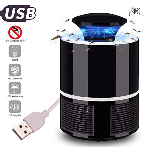 Trustful Smart Home Mosquito Killer Lamp Usb 368nm Uv Light Tempting 360 Degree Rotating For Repellent Led Lamp Kill Mosquito 2019 Smart Electronics Smart Home