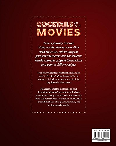 cocktails of the movies an illustrated guide to cinematic
