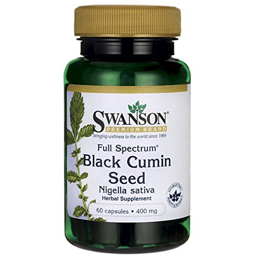 Black Cumin Seed (Swanson Full Spectrum Black Cumin Seed 400 mg 60 Caps)