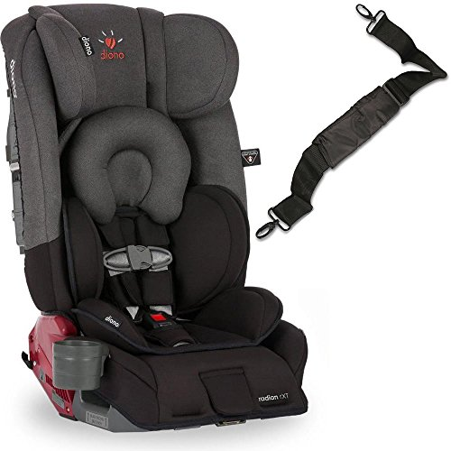 Diono Radian RXT Car Seat with Carrying Strap - Black Mist