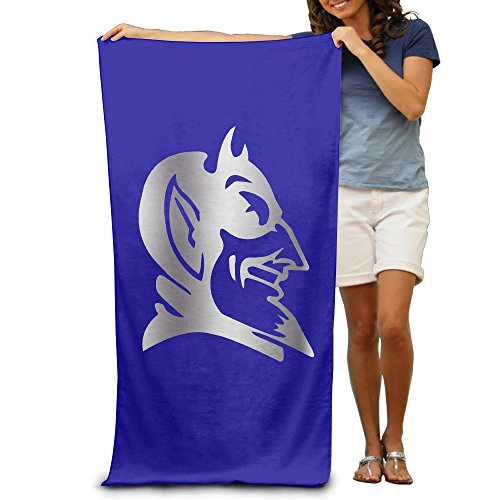 "Duke Blue Devils Platinum Logo 31.5""51""Pool Beach Towel"