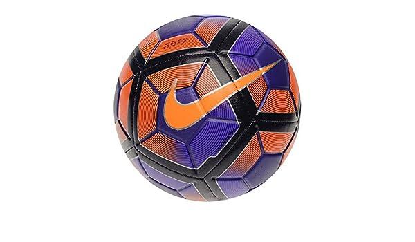 Nike Strike, balón de fútbol, morado y negro: Amazon.es: Deportes ...