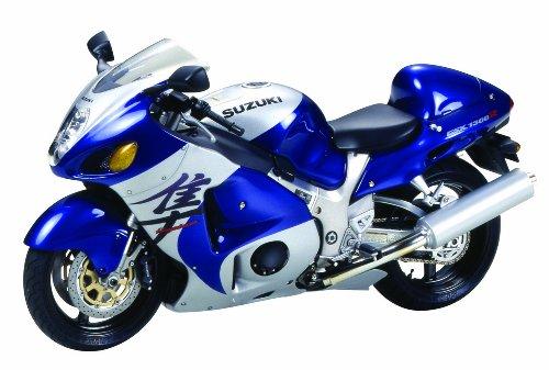 Tamiya Suzuki GSX1300R Hayabusa Street 98 Model Motorcycle, 300014090, 1:12 Scale