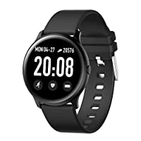 RUNDOING Smart Watch for Android Phones, 1.3 Inch Color Screen Fitness Tracker Activity...
