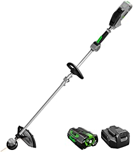 EGO Power+ ST1502XY 15-Inch Foldable Shaft String Trimmer with Rapid Reload Head 2.5Ah Battery & Charger Included