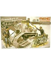 Meng HS-005 - figuren French FT-17 Light Tank Crew en Orderly