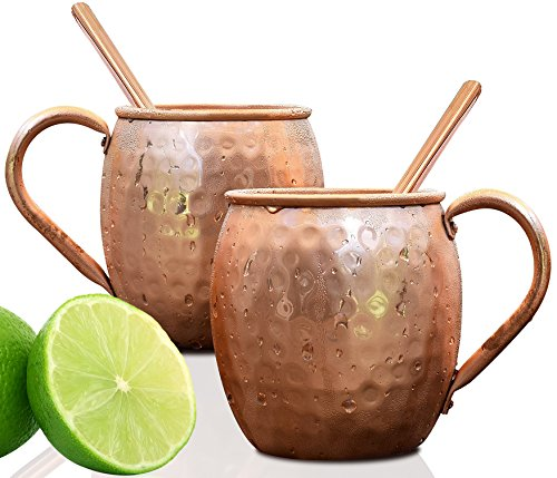 100 Pure Copper Mugs set