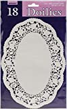 White Oval Doilies | Pack of 18| Party Supply