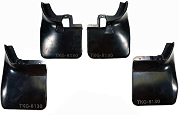 Front And Rear Splash Guard Mud Flap Fender For 4WD Nissan Frontier Navara D40