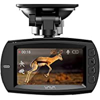 VAVA Dash Cam VA-CD007 with Ambarella A12 Processorfor 1440P 30fps/1080P 60fps Footage, F1.8 Aperture 178 Degrees Wide Angle Lens