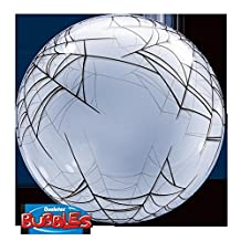 LA Balloons 17392 Bubble Balloon Plastic, Multicolor