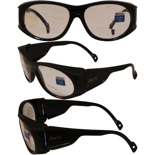 avis-blackhawk-bifocal-safety-glasses-black-frame-20x-magnification-clear-lenses-ansi-z871