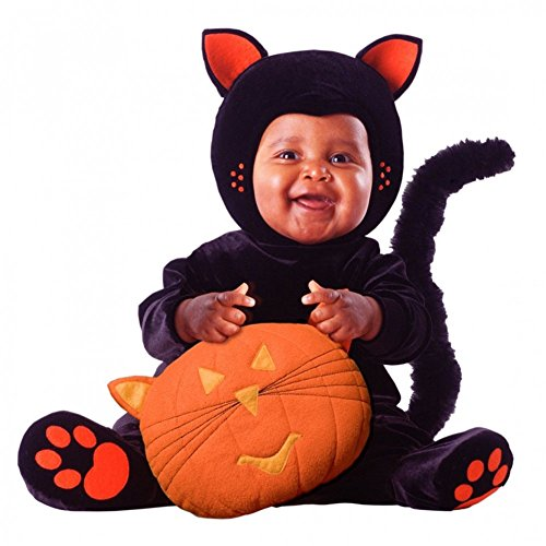Tom Cat Halloween Costume (Tom Arma - Black Cat - Signature Limited Edition Baby Costume (Toddler 3-4T 3T-4T))