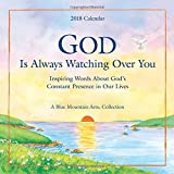 img - for 2018 Calendar: God Is Always Watching Over You, 7.5
