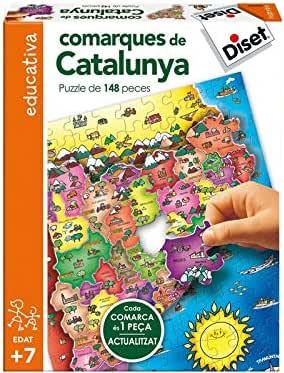 Diset- NOU Comarques de Catalunya (63664): Amazon.es: Juguetes y ...
