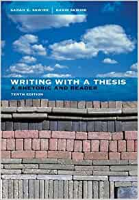 infotrac reader rhetoric thesis writing Writing with a thesis: a rhetoric and reader / edition 10 available in paperback but on what they mean for your students' writing available with infotrac student collections http you really got to the heart of improving weak writing — using a strong thesis from the publisher.