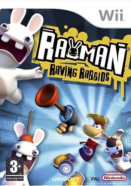 Ubisoft Rayman Raving Rabbids, Wii - Juego (Wii, Nintendo Wii): Amazon.es: Videojuegos