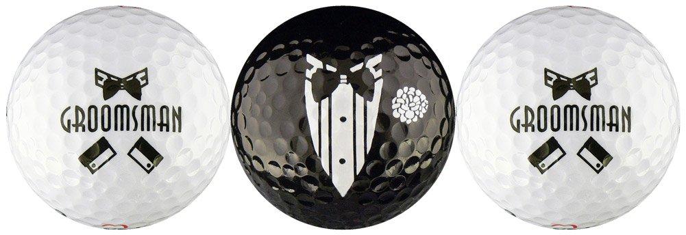 Groomsman Wedding Variety Golf Ball Gift Set