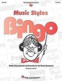 Music Styles Bingo Bk/Online Audio