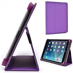 Violet Kroo Coby MID9042 Case // Slim Folio Case with Built-in Stand