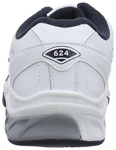 Course 624 De Homme New Pour Chaussures Blanc Pied Balance SqCIFx6Bw