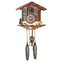 Hermle 46000 Simonswald Black Forest Cuckoo Clock