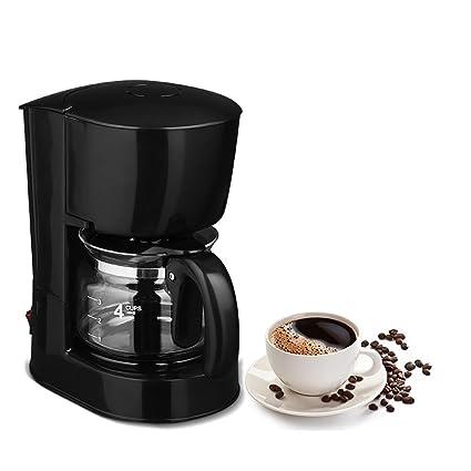 ZHAZHIJI Máquina de café, cafetera automática, Americana, Reloj de Arena casero,
