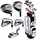Callaway Women's 2016 Solaire Complete Golf Set with Bag (13-Piece, Right Hand, Pink)