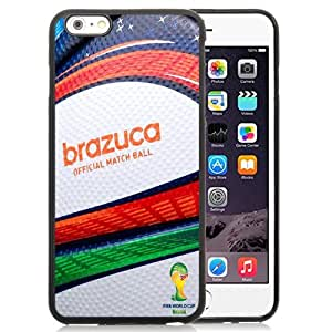 Unique and Attractive TPU Cell Phone Case Design with FIFA World Cup 2014 Brazuca Ball iPhone 6 plus 4.7 inch Wallpaper