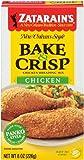 Zatarain's Bake & Crisp Chicken, 8-ounces (Pack of12)