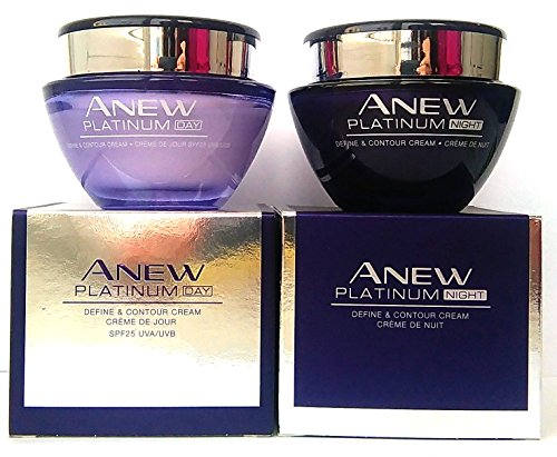 AVON Anew Platinum : Day Cream + Night Cream SET ! by Avon