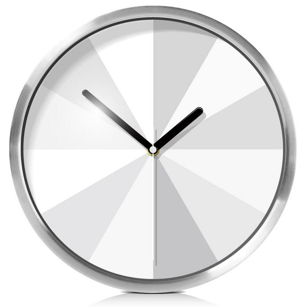 アートウォールクロックリビングルームファッションパーソナリティクォーツ時計クリエイティブミュートウォールクロック GAODUZI (色 : シルバー しるば゜) B07FKSNRRWシルバー しるば゜