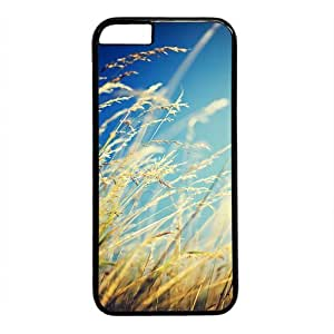 "Autumn Grass Theme Case for iPhone 6 Plus (5.5"") PC Material Black by runtopwell"