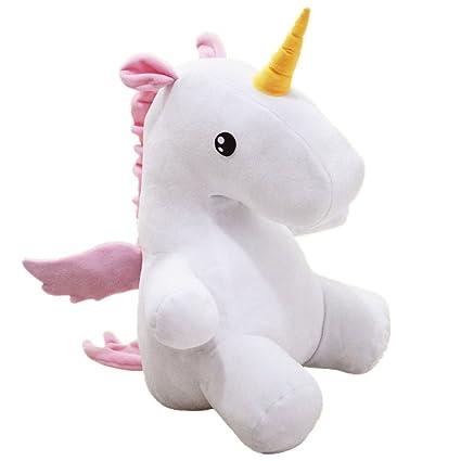 Amazon Com Lovely Unicorn Toys Unicorn Figure Plush Pillow Dolls