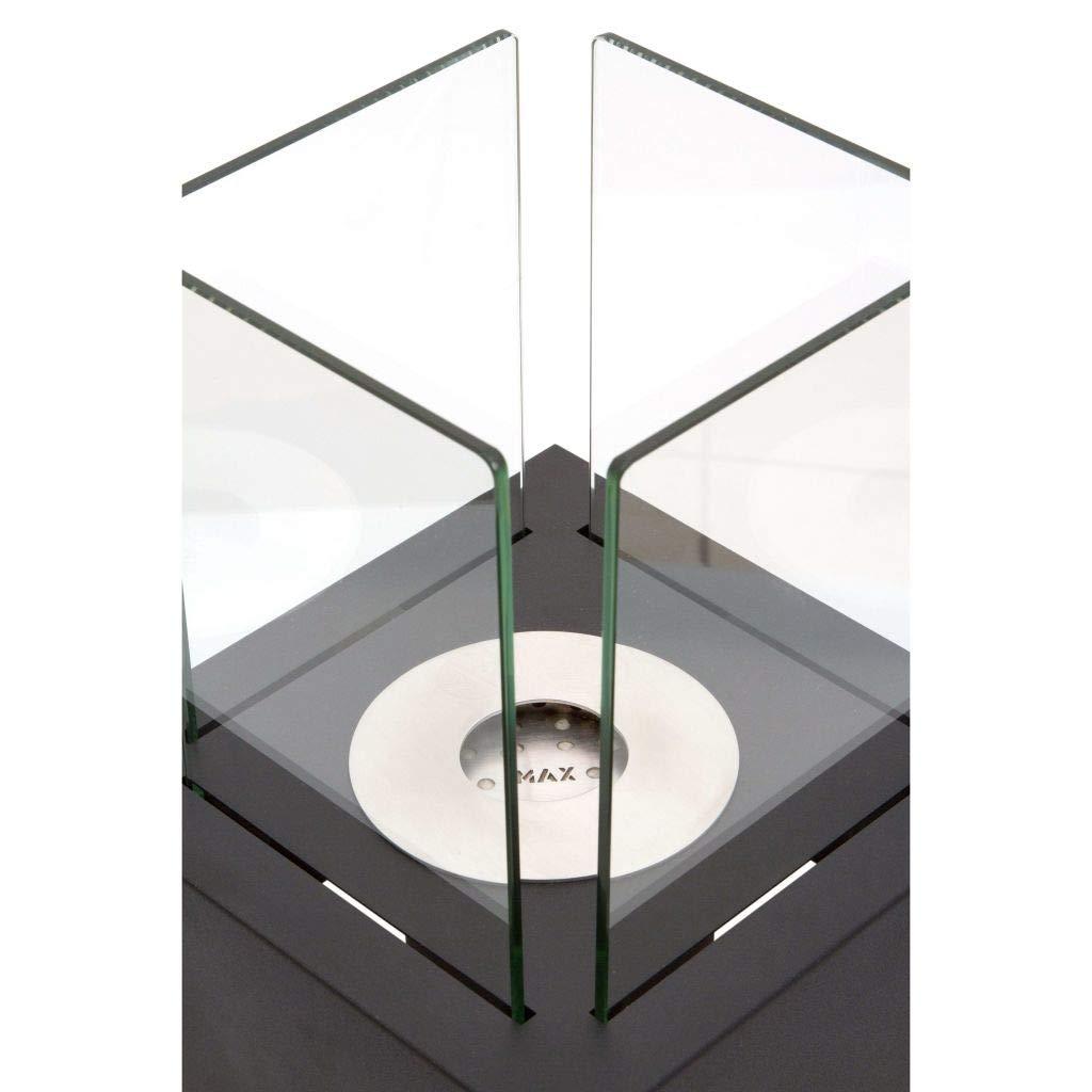Qlima FFB 022 - Chimenea (220 mm, 220 mm, 300 mm, 4 kg): Amazon.es: Hogar