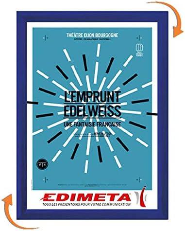 grande vente de liquidation modélisation durable site officiel Edimeta - Cadre Clic-Clac 80 x 120 cm BLEU: Amazon.fr ...