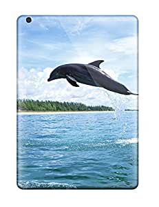 Awesome IBoDtOq2027KaaEj Charejen Defender Tpu Hard Case Cover For Ipad Air- Dolphins