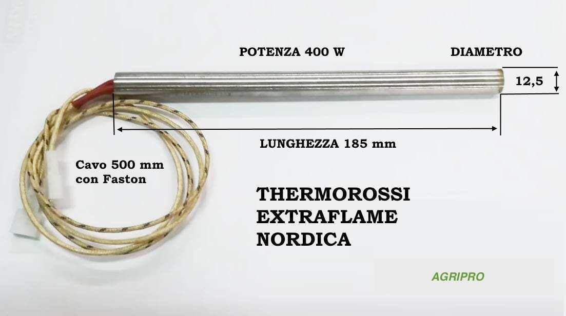 Mochila de encendido resistencia 12,5/X 185/W 400/
