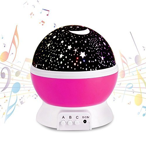 Projection lamp Night Light Rechargeable Stars Projector War