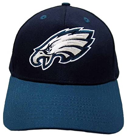 ddaef4c9c NFL Philadelphia Eagles Basic Logo Closure Baseball Hat, Black