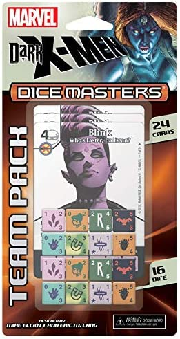 Wizkids Marvel Dice Masters Team Pack Dark X-Men *English Version Board Games: Amazon.es: Juguetes y juegos