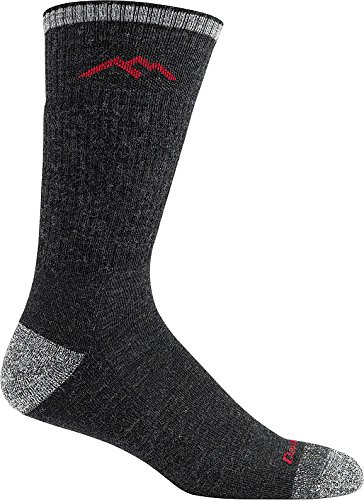 Darn Tough Men's Wool Boot Cushion Sock (Style 1403) - 6 Pack Special Offer (Black, Large) by Darn Tough