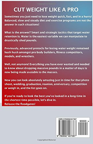 how to water cut to lose weight