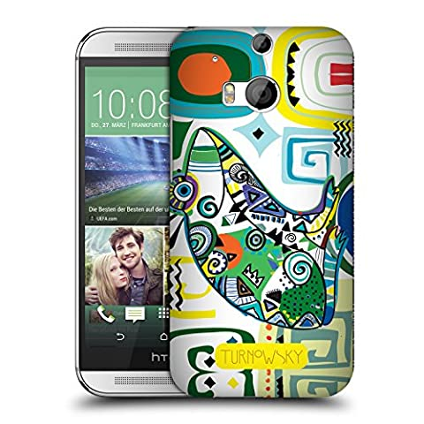 Official Turnowsky Tribal Frog Primitive Wild Hard Back Case for HTC One M8 / M8 Dual Sim (Htc One M8 Case Frog)