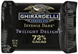 Ghirardelli Chocolate Intense Dark Squares, Twilight Delight 72% Cacao, 0.375-Ounce Squares (Pack of 540)
